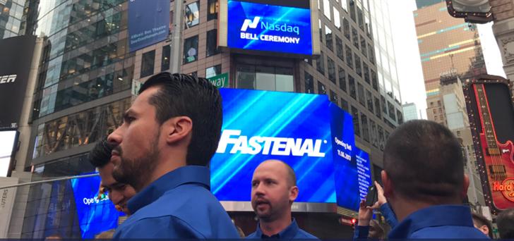 Fastenal Bell Ringing