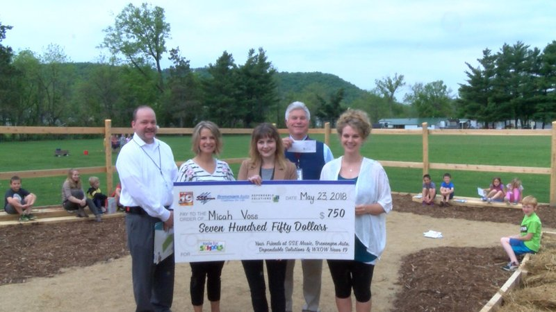 Coon valley elementary is the new winner of tools for for Gardening tools for schools