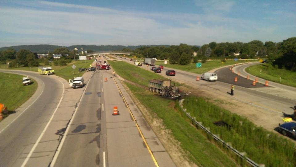 Wi state patrol one fatality in i 90 crash wxow news 19 for I 90 construction