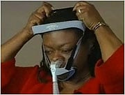 Shirley's cancer doctor referred her to a sleep clinic where a study revealed the underlying problem - sleep apnea.