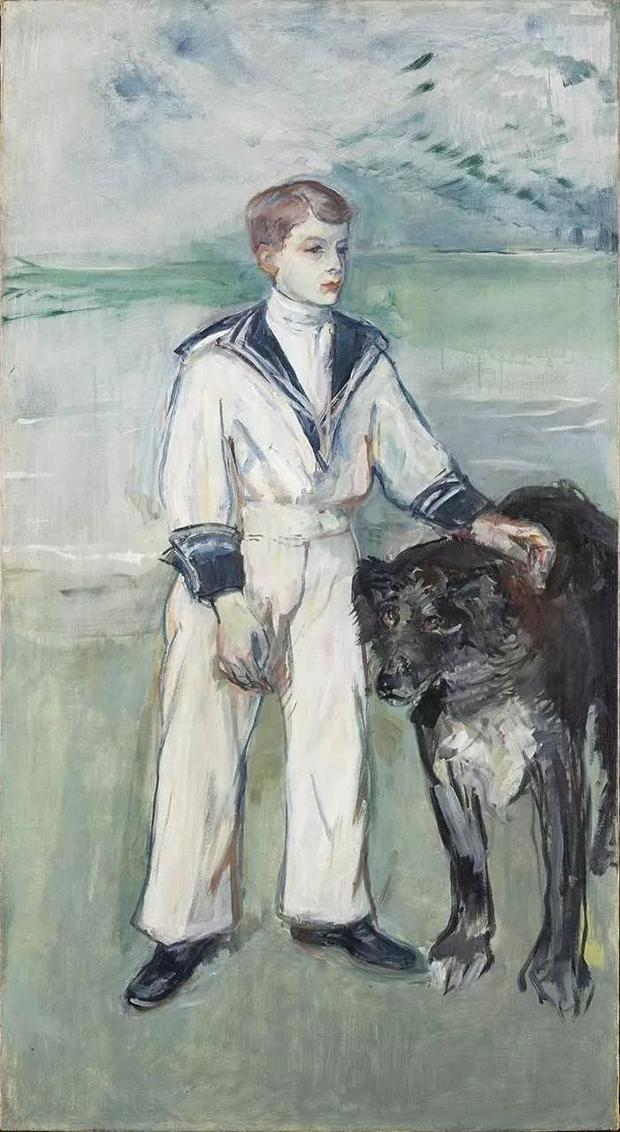 """Toulouse-Lautrec, 'The Child With The Dog"""" (1900)"""