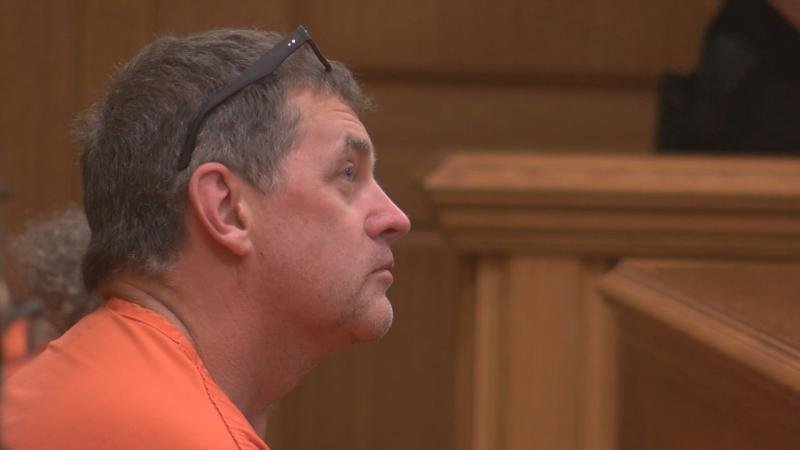 Jeffrey Martinson talks to an attorney Friday afternoon in a La Crosse County Courtroom