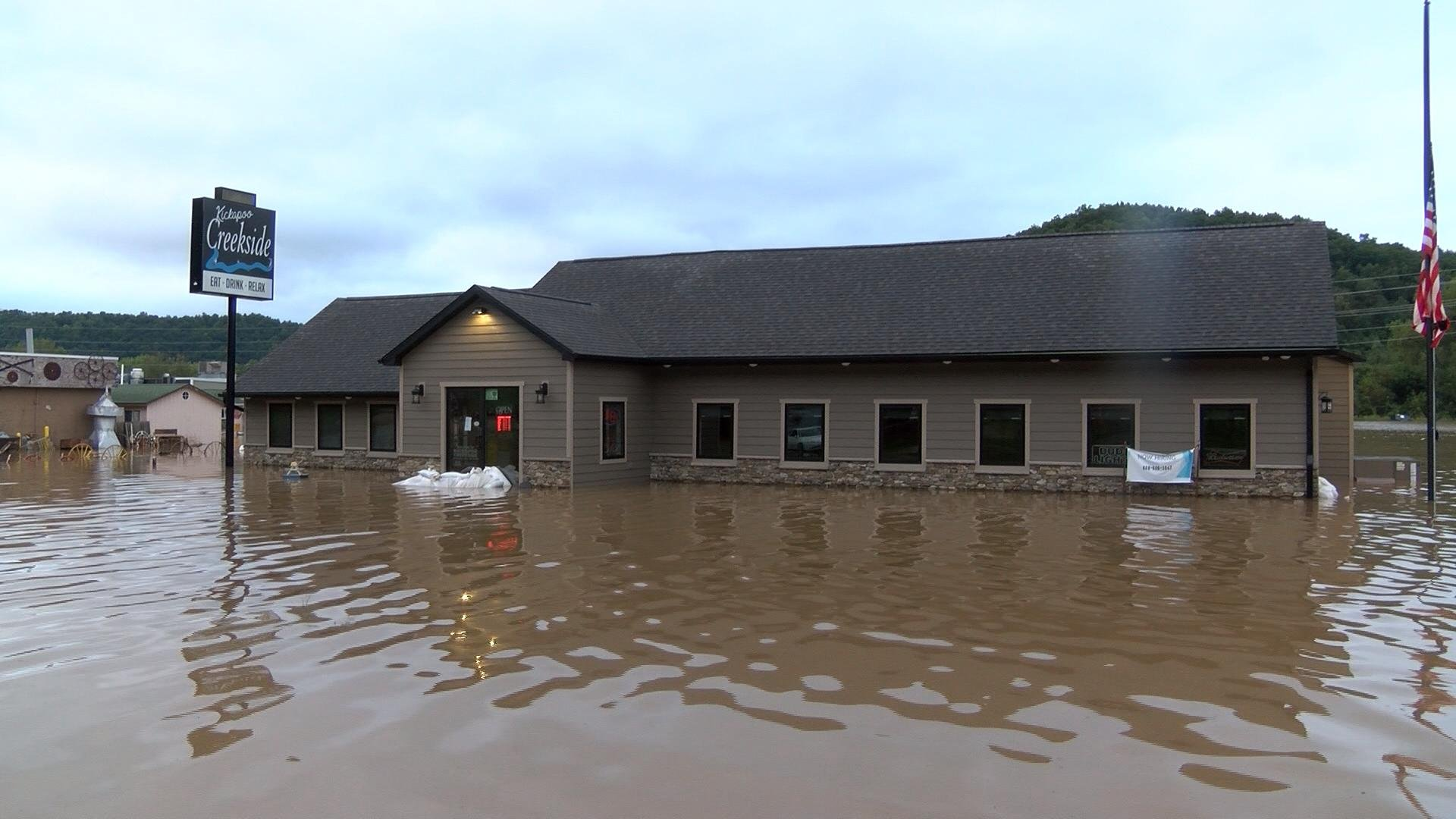 Kickapoo River causes major flooding with record levels ...
